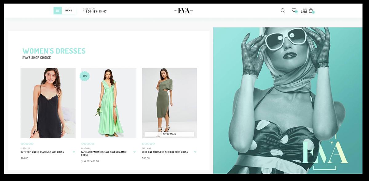 EVA shopify theme